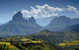 The Simien Mountain National Park